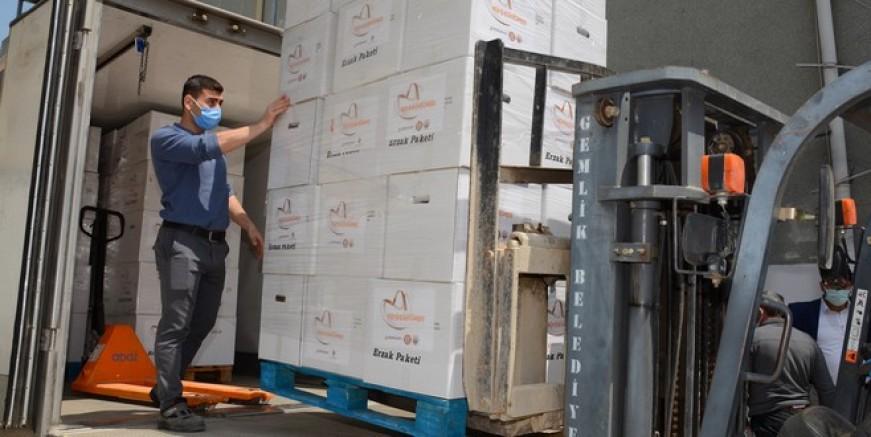 Borusan Grubu'ndan bin 500 Aileye Erzak Yardımı