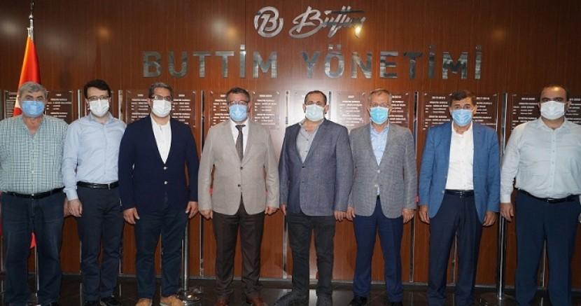 BTSO ve BUTTİM'dem binlerce maske...