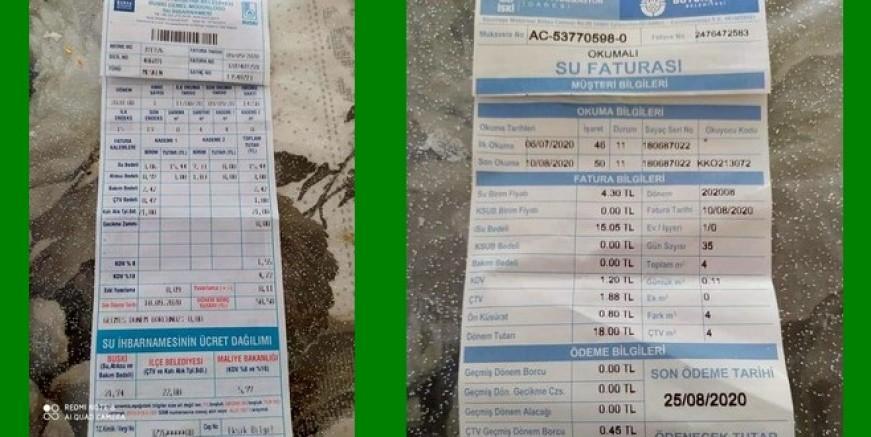 Bursa'da su İstanbul'dan ucuz