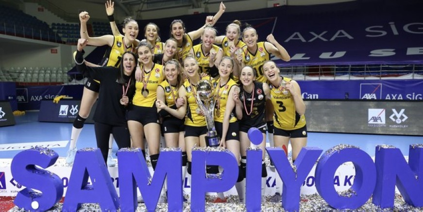 Kupa Voley şampiyonu Vakıfbank
