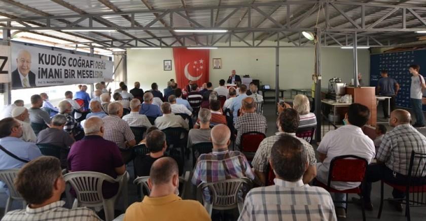 SP'li  Kamalak Bursa'da Bayramlaşma törenine katıldı...