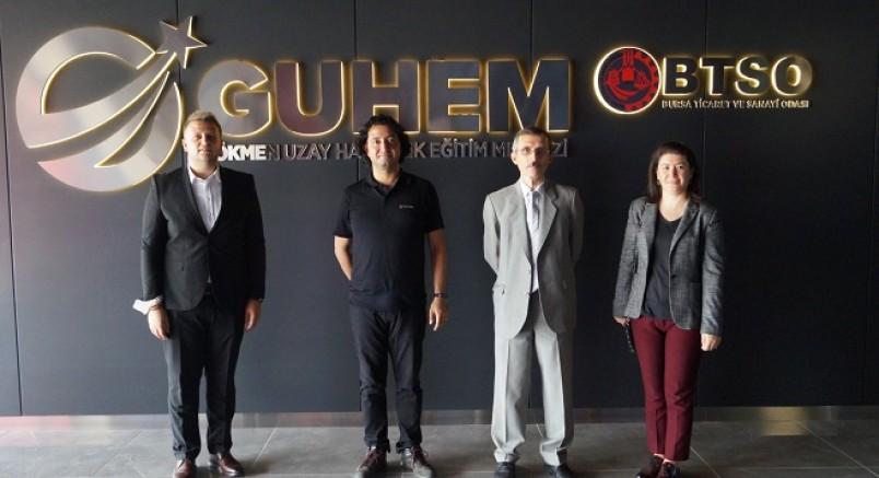 Teknoloji üssü ULUTEK'ten GUHEM ve BUTGEM'e işbirliği ziyareti...